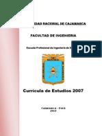 Curricula Ingenieria de Sistemas 2011
