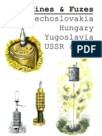 Mines and Fuzes Czech Hungary Yugoslavia USSR and GDR