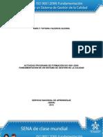 Solución Actividad de Aprendizaje unidad 2 Clases de Sistemas de Gestión