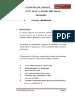 Proyecto de Inst. Electricas de Interiores- CULMINADO