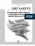 Comparing Accident Reports,
