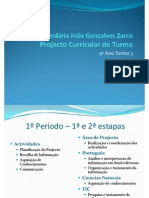 projecto curricular final