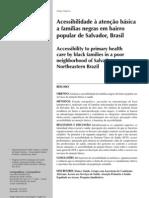 2012-2 Acessibilidade à atenção básica (Trad, Castellanos, Guimaraes, 2012)