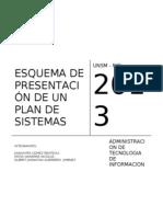 Esquema Plan de Sistemas Kola Real
