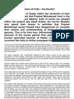 Guardians of faith - the Saudis?
