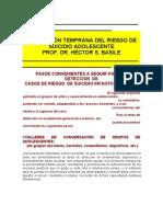 16-Prevencion Temprana Del Riego de Suicidio Adolescente.