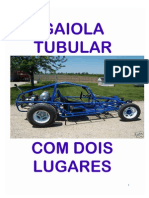 Projeto Chassis Gaiola