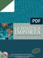 Payne, Mark et al. (2006) La política importa