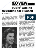 Kurt Russell interview (1987)