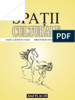 Spatii Culturale Nr 28