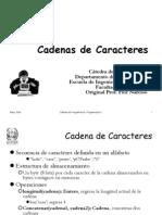 Cadena Caracteres