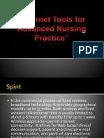 Internet Tools for Advanced Nursing Practice