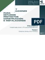 Volumen 3 Tomo I Diseno Arquitectonico Inifed