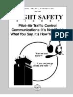 Pilot- ATC Communications