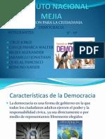 Caraterísticas de la Democracia carpeta de la lic
