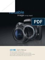 Samsung DSLR GX-1S User Manual
