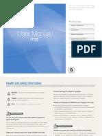 Samsung Camera IT100 User Manual