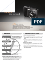 Samsung Camera L73 User Manual