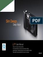 Samsung Camera L77 User Manual