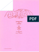 1979 - Adventures in Fantasy - Book of Creatures and Treasure