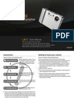 Samsung Camera L83T User Manual