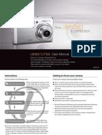 Samsung Camera L830 / L730 User Manual
