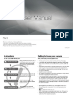 Samsung Camera NV4 User Manual