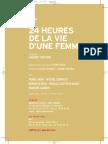 Pressbook for 24 heures dans la vie d'une femme (2003) by Laurent Bouhnik with Agnes Jaoui