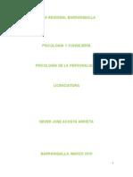 4. PSICOLOGÍA DE LA PERSONALIDAD (FEBRERO 2010)