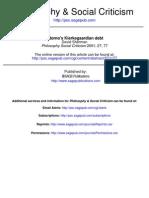 1-Adorno's Kierkegaardian Debt