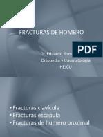 Fracturas de Hombro