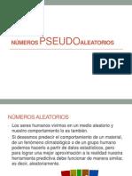 NUMEROS PSEUDOALEATORIOS