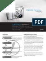 Samsung Camera S85 / D85 User Manual