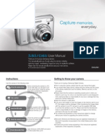 Samsung Camera S85 / D85 User Manual