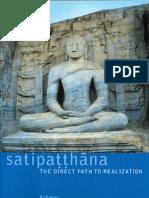 Satipatthana; The Direct Path to Realization by Analayo