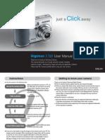 Samsung Camera S700 User Manual