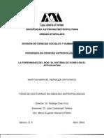 Mendoza Ontiveros, Martha. La Perenidad Del Don