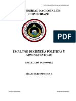 SÍLABO estadistica I (SEMESTRAL Economia 2012 - 2013)