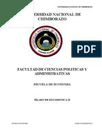 SÍLABO estadistica 2 Ing.LuisPaucar Economia.doc