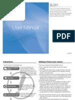 Samsung Camera SL201 User Manual