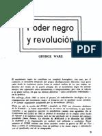 George Ware - Poder Negro y Revolucion