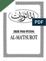 Zikir Pagi - Petang AL-MATSUROT (Transliterasi Arab-Latin)