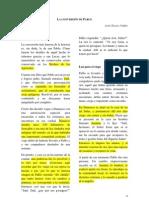 A. A., Valdés, La conversión de Pablo