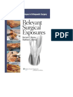 Relevant Surgical Exposures