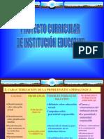 1 Proyecto Curricular de I.E.