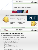 MikroTik Router OS Firewall Strategies