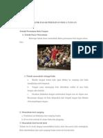 Teknik Dasar Permainan Bola Tangan