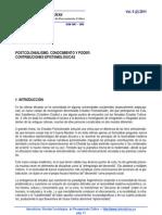 PICAS_UAB_postcolonialismo, Cnocim y Poder