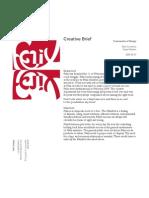 Creative Brief Frameworks of Design Alex Crowfoot Gaye Nielsen