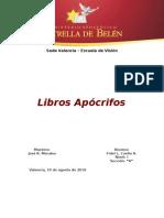Libros Apócrifos